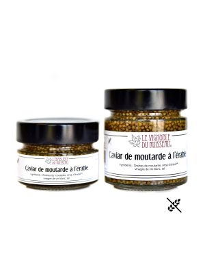 Caviar de moutarde à l'érable